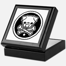 PugglyPirate-1cl Keepsake Box