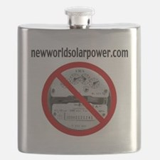 Just Say No to Electric Meters Flask