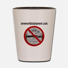Just Say No to Electric Meters Shot Glass