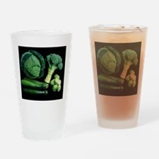Green vegetable selection Drinking Glass