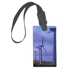 Wind farm turbines Luggage Tag