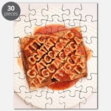 GM food, conceptual image Puzzle