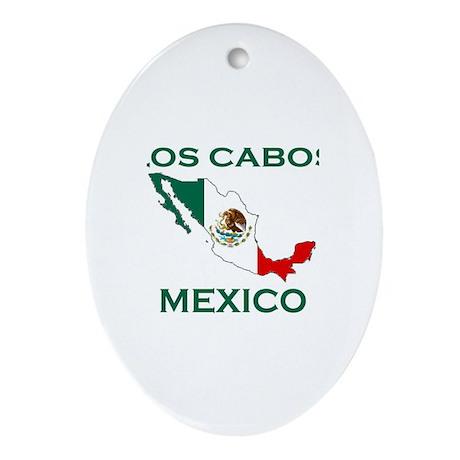 Los Cabos, Mexico Oval Ornament