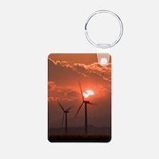 Wind turbines Keychains