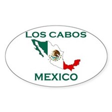 Los Cabos, Mexico Oval Decal