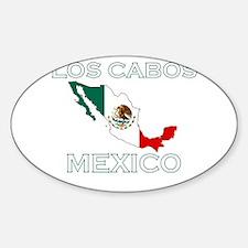 Los Cabos, Mexico Oval Decal