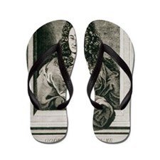 Gottfried Wilhelm Leibnitz, German phil Flip Flops