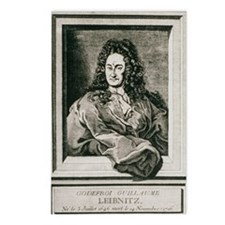Gottfried Wilhelm Leibnit Postcards (Package of 8)