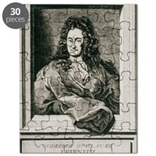 Gottfried Wilhelm Leibnitz, German philosop Puzzle