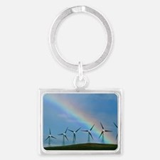 Wind farm Landscape Keychain