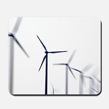 Wind turbines Mousepad