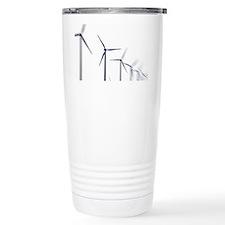 Wind turbines Travel Coffee Mug