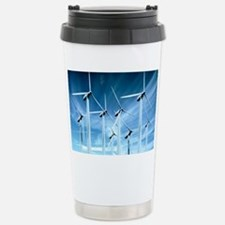 Wind turbines Stainless Steel Travel Mug
