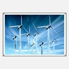 Wind turbines Banner