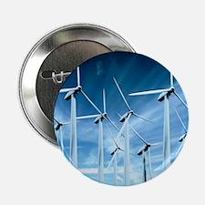 "Wind turbines 2.25"" Button"