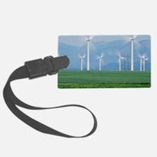 Wind turbines Luggage Tag