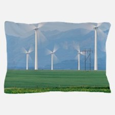 Wind turbines Pillow Case