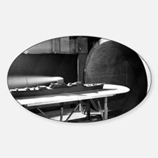 Wind tunnel ship testing, 1952 Decal