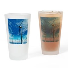 Wind power, artwork Drinking Glass
