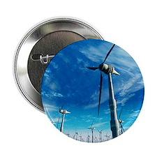 """Wind power, artwork 2.25"""" Button"""