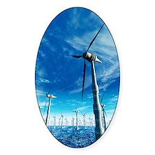 Wind power, artwork Decal