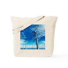 Wind power, artwork Tote Bag