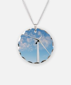 Wind turbine, Denmark Necklace