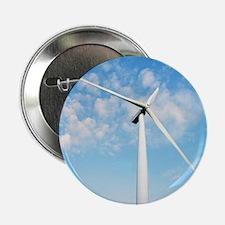 """Wind turbine, Denmark 2.25"""" Button"""