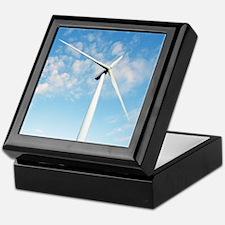 Wind turbine, Denmark Keepsake Box