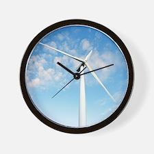 Wind turbine, Denmark Wall Clock