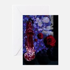 Tower Rose Greeting Cards (Pk of 10)