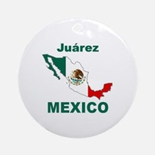 Juarez, Mexico Ornament (Round)