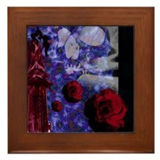 Tower Rose Framed Tile
