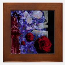 Tower Rose Framed Tile