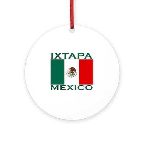 Ixtapa, Mexico Ornament (Round)