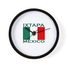 Ixtapa, Mexico Wall Clock