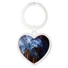 Make wish Heart Keychain