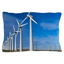 Wind turbines Pillow Case