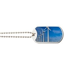 Wind turbines Dog Tags