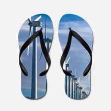 Wind turbines Flip Flops