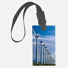 Wind turbines Luggage Tag