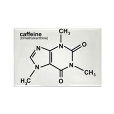 Caffeine Rectangle Magnet
