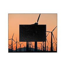 Wind turbines, California Picture Frame