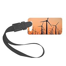 Wind turbines, California Luggage Tag