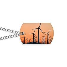 Wind turbines, California Dog Tags