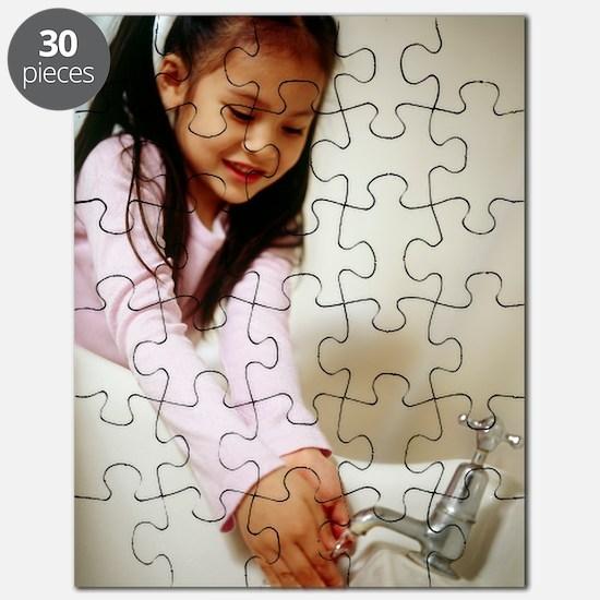 Hand washing Puzzle