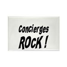 Concierges Rock ! Rectangle Magnet