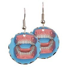 Model of a mouth Earring