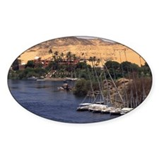Sailboats on Nile River Decal