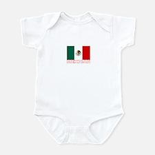 Mexican Flag (Dark) Infant Bodysuit
